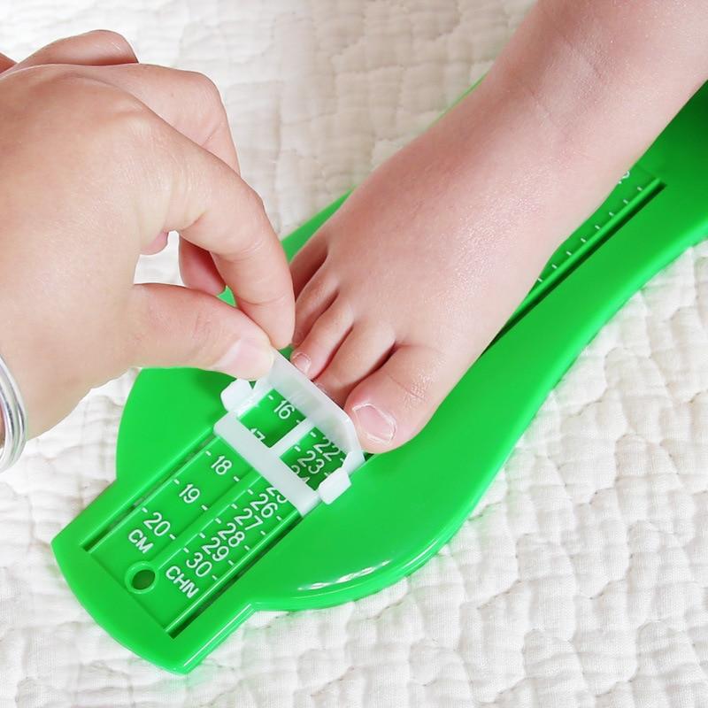 New 0-20cm Children Feet measure Foot measurement for baby shoes caculator chidren foot measure gauge P10