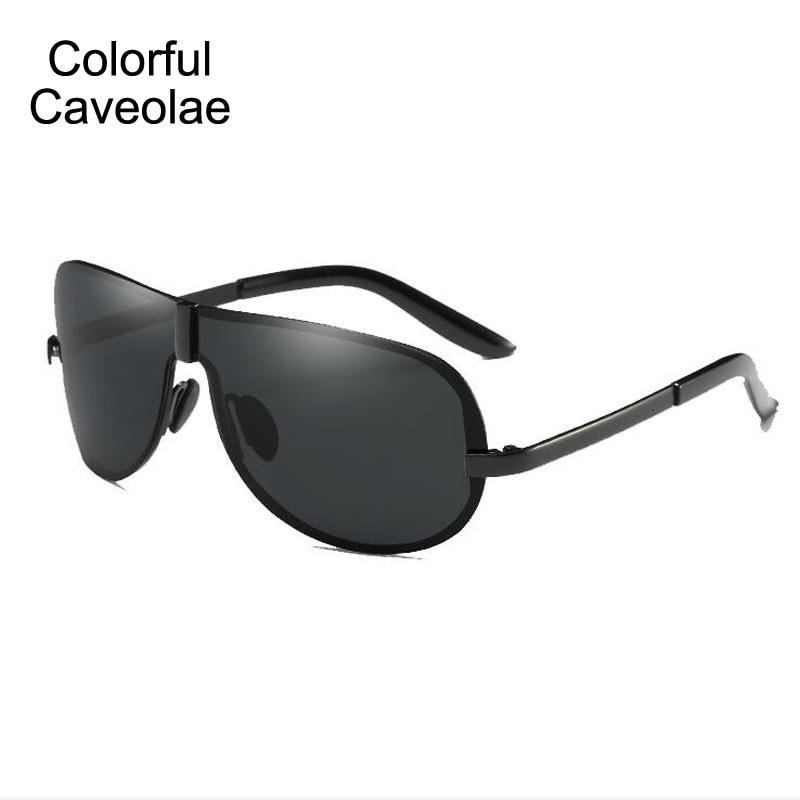 90faa52d425 Colorful Caveolae Sunglasses Men Polarized Rimless Frog Glasses Man Fashion  Popular Male Sun Glasses