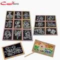 5 pçs/lote 17.3*12.7 cm Dois-em-um da Magia da Cor Do Zero Arte Cartões Raspagem Desenho De Papel Para Colorir brinquedo para Crianças Pintura Raspagem