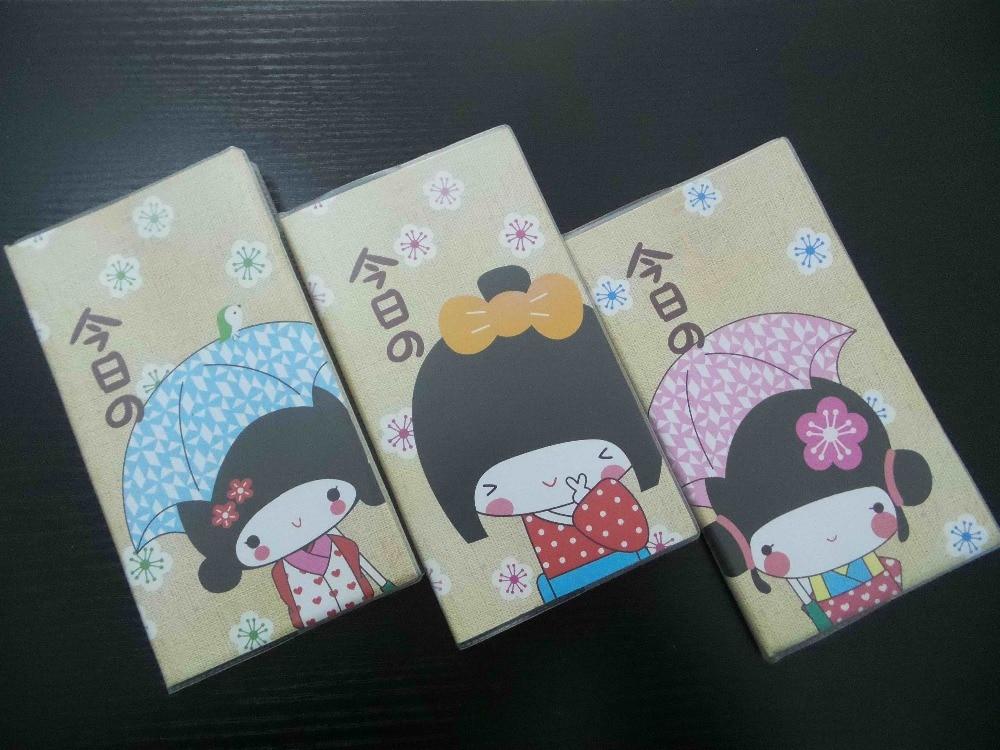 लवली लोकप्रिय फैशनेबल विंटेज जापानी शैली डायरी नोटबुक 3ps / सेट स्कूल आपूर्ति कार्यालय स्टेशनरी नोटपैड मुफ्त शिपिंग