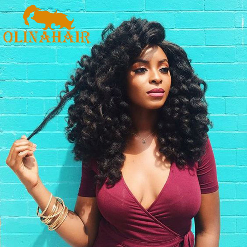 8 10 Inch Wand Curl Crochet Hair Extensions Ombre Havana