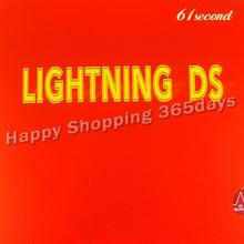 61second Lightning DS (NON-TACKY)  pips-in table tennis / pingpong rubber with sponge цена