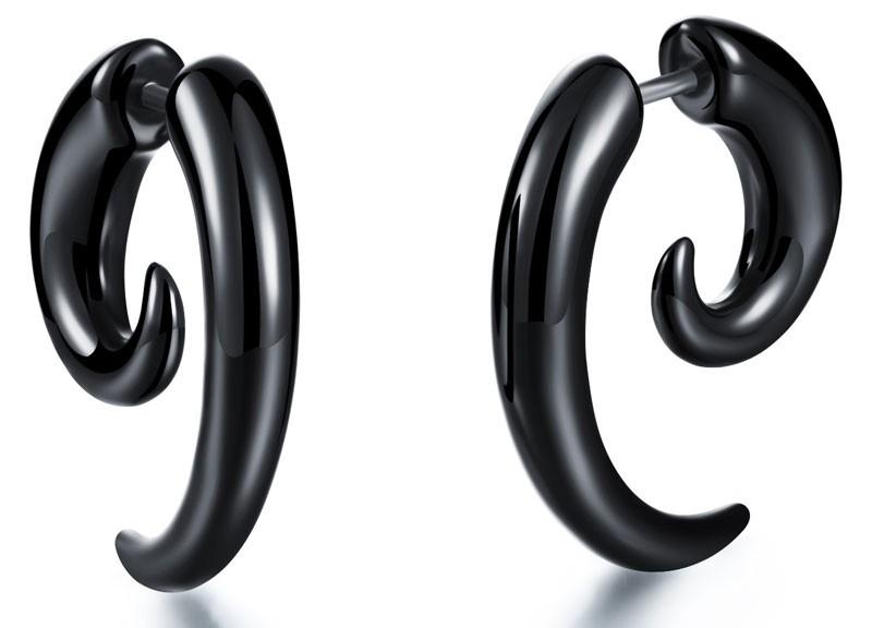 HTB1HP56KVXXXXa.XFXXq6xXFXXX7 - Hog Tooth Black Stud Earrings