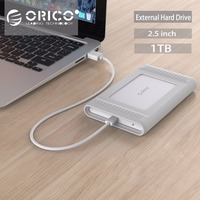 ORICO 1 TB USB3.1 Gen2 TYPE-C 10 Gbps 2,5 zoll Externe Festplatte HDD Desktop Laptop Mobile Festplatte Outdoor silber