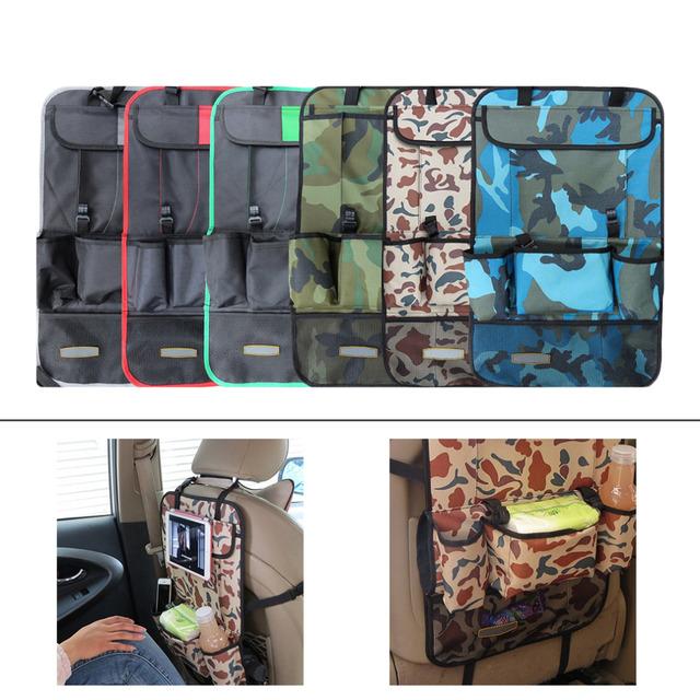 Asiento Auto Car Holder Organizador Multi-Bolsillo bolsa de Viaje Multiusos Suspensión Del Bolso De Almacenamiento Caja Organizador Asiento Trasero Del Vehículo Espacial ahorro