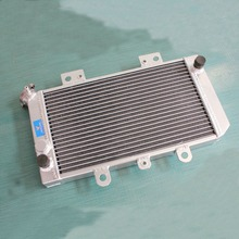 ATV parts accessories 32MM NEW ALUMINUM RADIATOR FOR YAMAHA ATV QUAD GRIZZLY 660 YFM660F 2002-2008 engine cooling parts