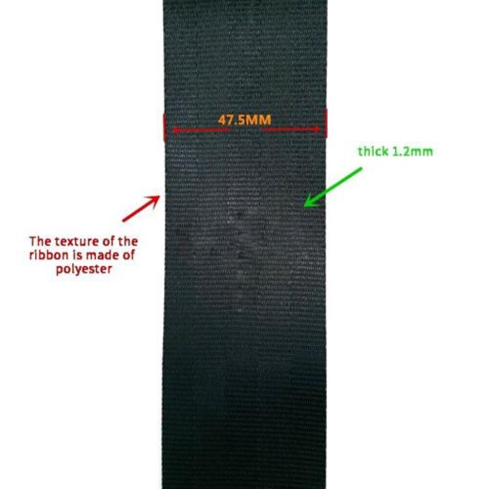 Voiture Auto réglable 3 points rétractable ceinture de sécurité support de ceinture de sécurité universel - 2