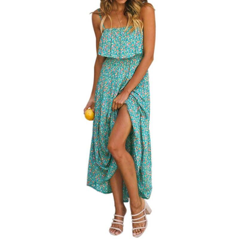 Женское платье женские пляжные летние сексуальные модные вечерние на бретельках стильные