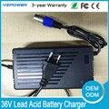 36 V 4.5A 5A 6A 5.5A 6.5A Chumbo Ácido Carregador de Bateria com EUA Plug UE para Cadeira De Rodas De Bicicletas
