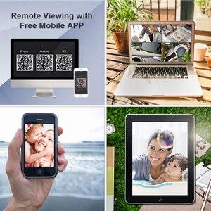 Image 5 - MOVOLS 12Pcs CCTV 카메라 키트 2MP H.265 야외 감시 키트 1080P IR 보안 카메라 비디오 감시 시스템 16ch DVR 키트