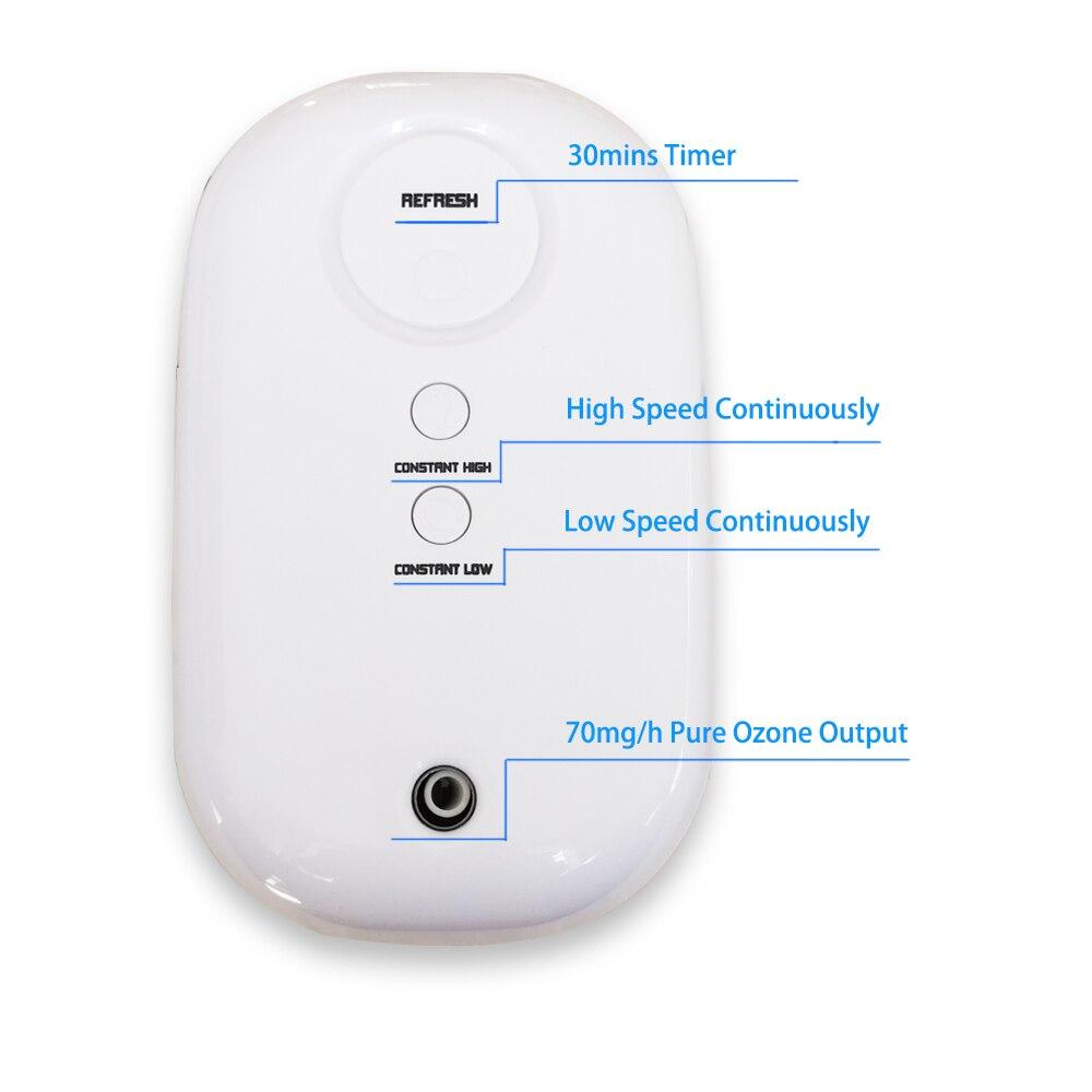 portable home ozone air purifier