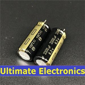 Image 1 - 10pcs 3300uF 6.3V FJ Series 10x25mm Low ESR 6.3V3300uF Motherboard Capacitor
