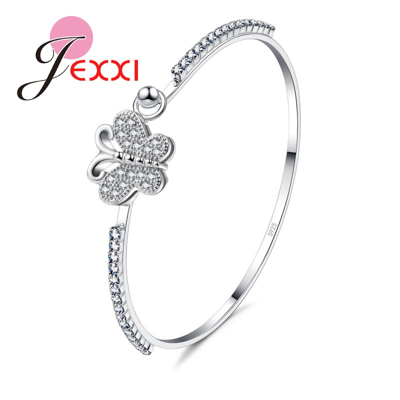 Haokan Womens Fahion Open Adjustable Love Heart Rings Silver Plated Party Wedding Jewelry Gift for Girl