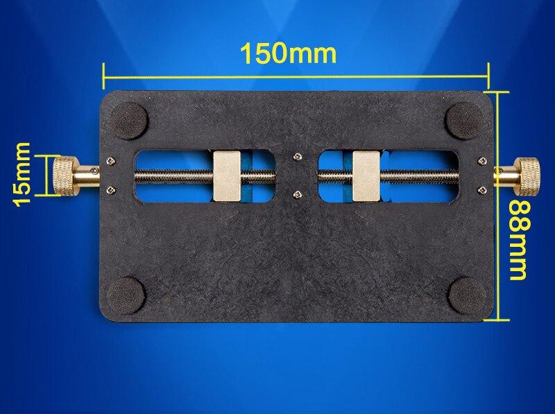 Купить с кэшбэком Multi-functional fixture double bearings high temperature resistant mobile phone motherboard fixture BGA chip positioning