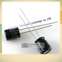 New original 35 v 47 uf electrolytic capacitor 3 c digital e