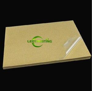Image 3 - 50 yaprak A4 Boyutu 210mm x 297mm Temizle Boş Parlak PVC Etiket Vinil PVC Etiket Baskı PVC A4 yapışkanlı Etiket Lazer Yazıcı için
