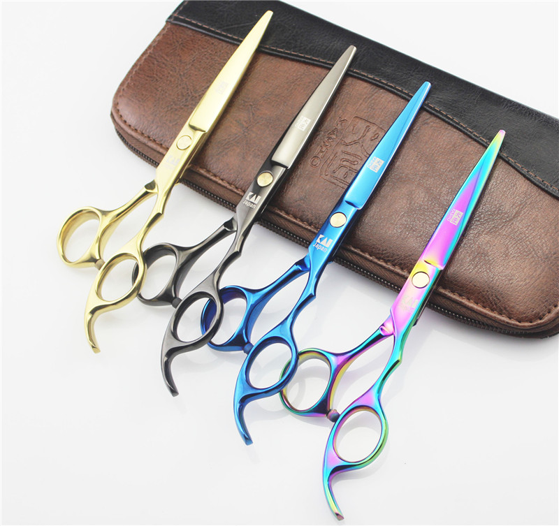 2016 Japan Professional Hairdressing Scissors Hair Cutting Scissors Set Barber Shears Tijeras Pelo High Quality Salon5