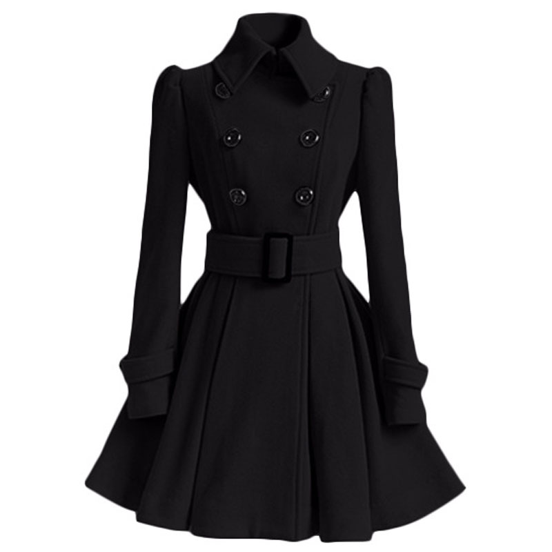 Compare Prices on Wool Trench Dress- Online Shopping/Buy Low Price ...