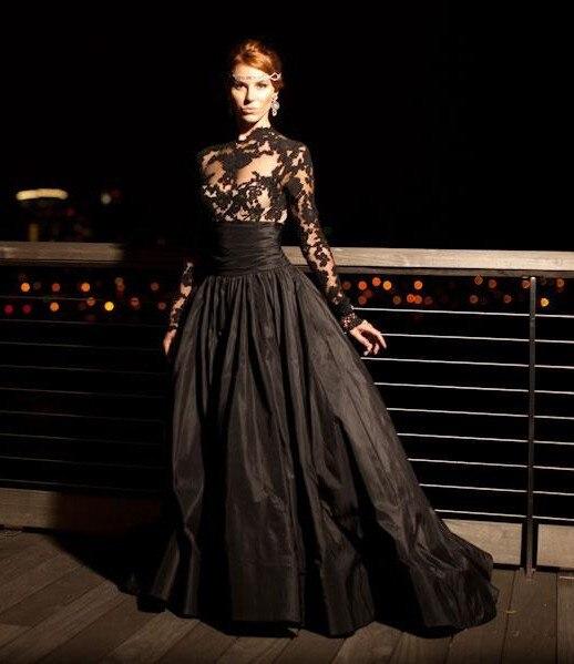 Online Get Cheap Black Lace Elegant Ball Gown Dress -Aliexpress ...