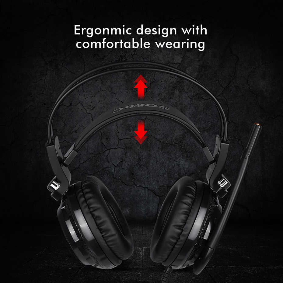 867d1789f57 ... Somic G941 USB 7.1 Virtual Surround Sound Gaming Headset Headphones  with Microphone Stereo Bass Vibration for