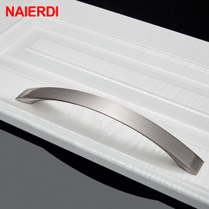 Image 4 - NAIERDI 10PCS Cabinet Handles Knobs Aluminum Alloy Door Kitchen Knobs Cabinet Pulls Drawer Furniture Handle Hardware