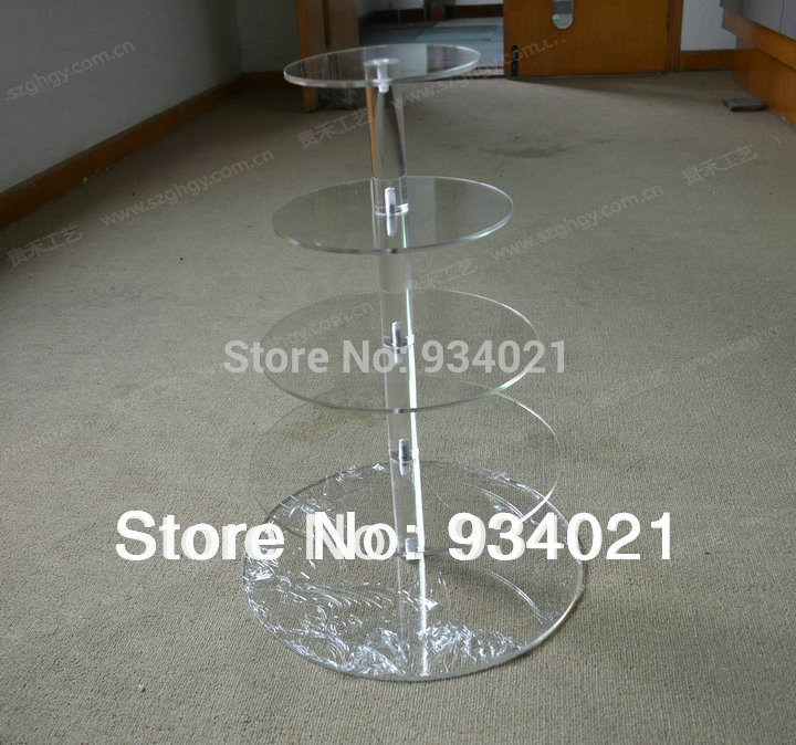 Eco-friendly 5 Tiers Acrylic Cake Stand Made In China, Wedding Cupcake StandEco-friendly 5 Tiers Acrylic Cake Stand Made In China, Wedding Cupcake Stand