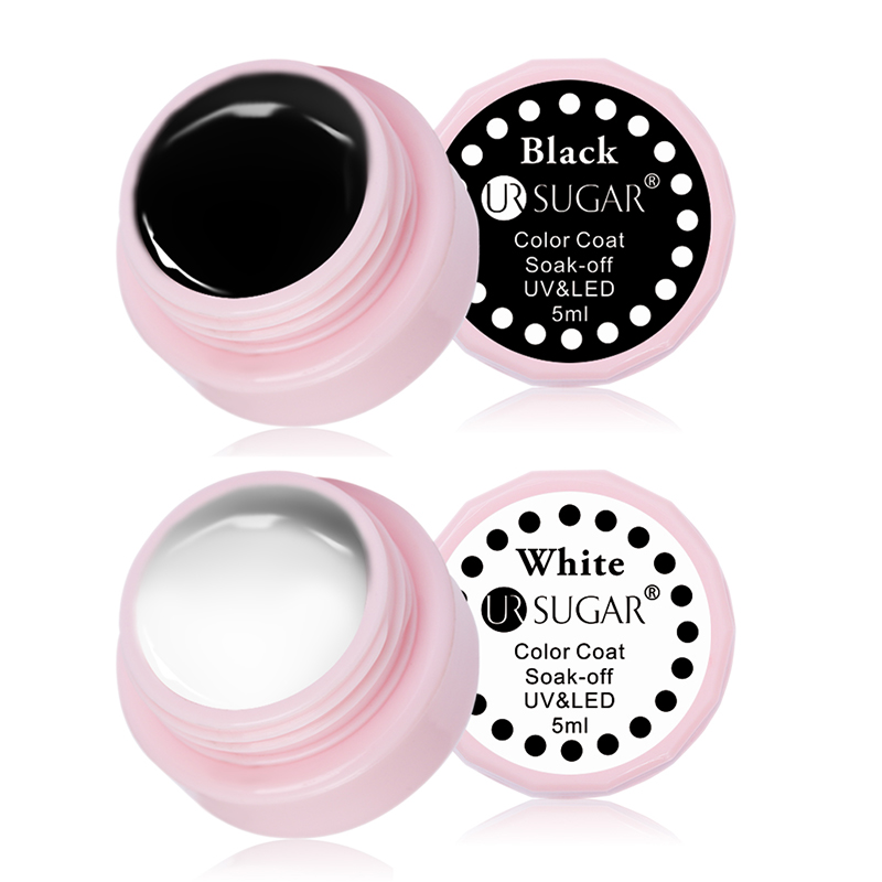 UR SUGAR 5мл Macaron Soak Off UV Гель 110 Pure Colors Effect - Маникюр - фото 6