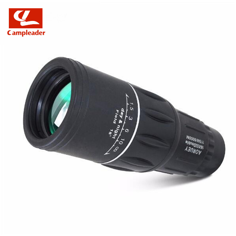 Huting Camping Travel Concert Outdoor HD Telescope Mini Monocular Telescope 16X52 Lightweight Tourism Scope Binoculars CL139