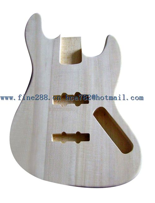 все цены на  new made in China mahogany jb bass body unpainted +EMS free shipping+foam box F-5004  онлайн