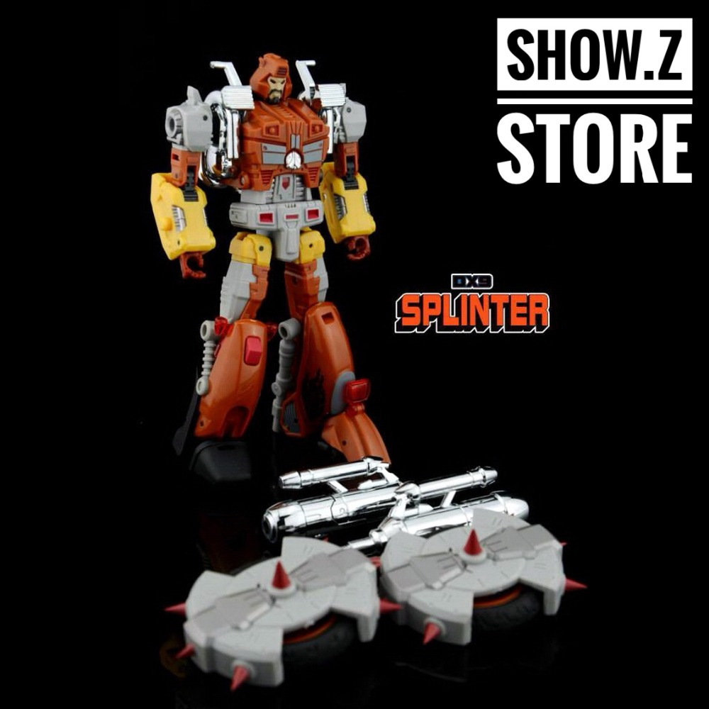 [Show.Z Store] DX9 Toys D02S Splinter Wreck-Gar Transformation Action Figure Dino Bot Junkion купить