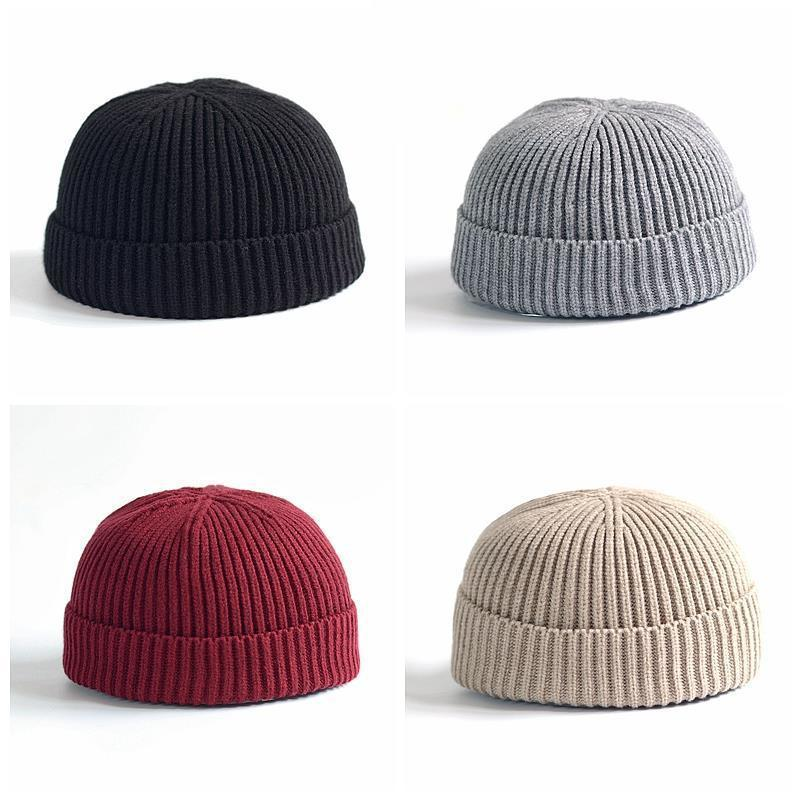 Beanies   Knit Men's Winter Hat Caps   Skullies   Bonnet Winter Hats For Men Women   Beanie   Warm Baggy Outdoor Sports Hat Fleece