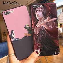 MaiYaCa Naruto silicone suave TPU Phone Case capa Shell Para Apple iphone 7 7 plus X 8 6 6 8 plus s 6 plus 5 5S 5c(China)