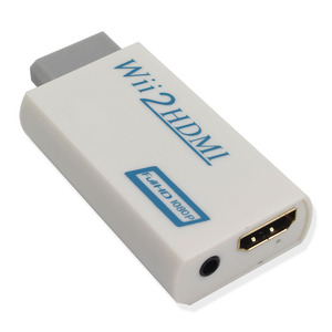 Image 3 - Wii to hdmi Converter Adapter, wii to hdmi1080p 720p Connector Output Video & 3.5mm Audio   Supports All for Wii Display Modes