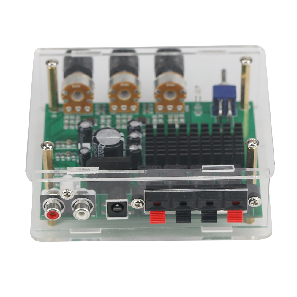 Image 5 - Стереоусилитель GHXAMP TPA3116D2 80 Вт * 2, аудиоплата TPA3116, цифровой усилитель звука, преусилитель тона, высокая мощность, DC12 24V, 1 шт.amplifier audioamplifier sounddigital amplifier -