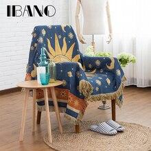 Ibnoスレッド毛布130 × 180センチcobertor綿スロー毛布ホーム装飾用ソファカバーbeedシート床マットテーブルcolth