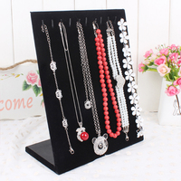 2014 Free Shipping High Quality Fashion L Shape Necklace Pendant Necklace Display Rack