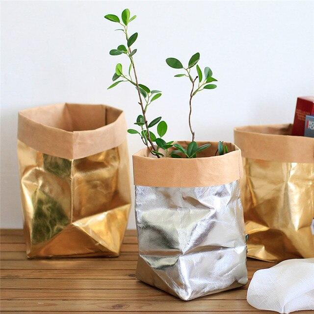 Multi Purpose Home Flower Decor Washable Plant Flowers Pots Craft
