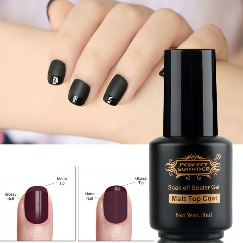 Aliexpress Buy Perfect Summer Matte Top Coat 8ml Matte Gel