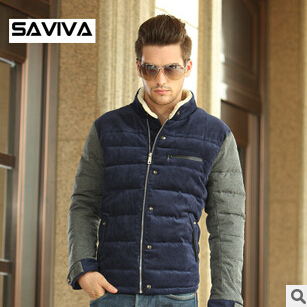 Free shipping Spring autumn 2016 new high-end European and American men brand Thin and light warm down jacket cheap wholesale
