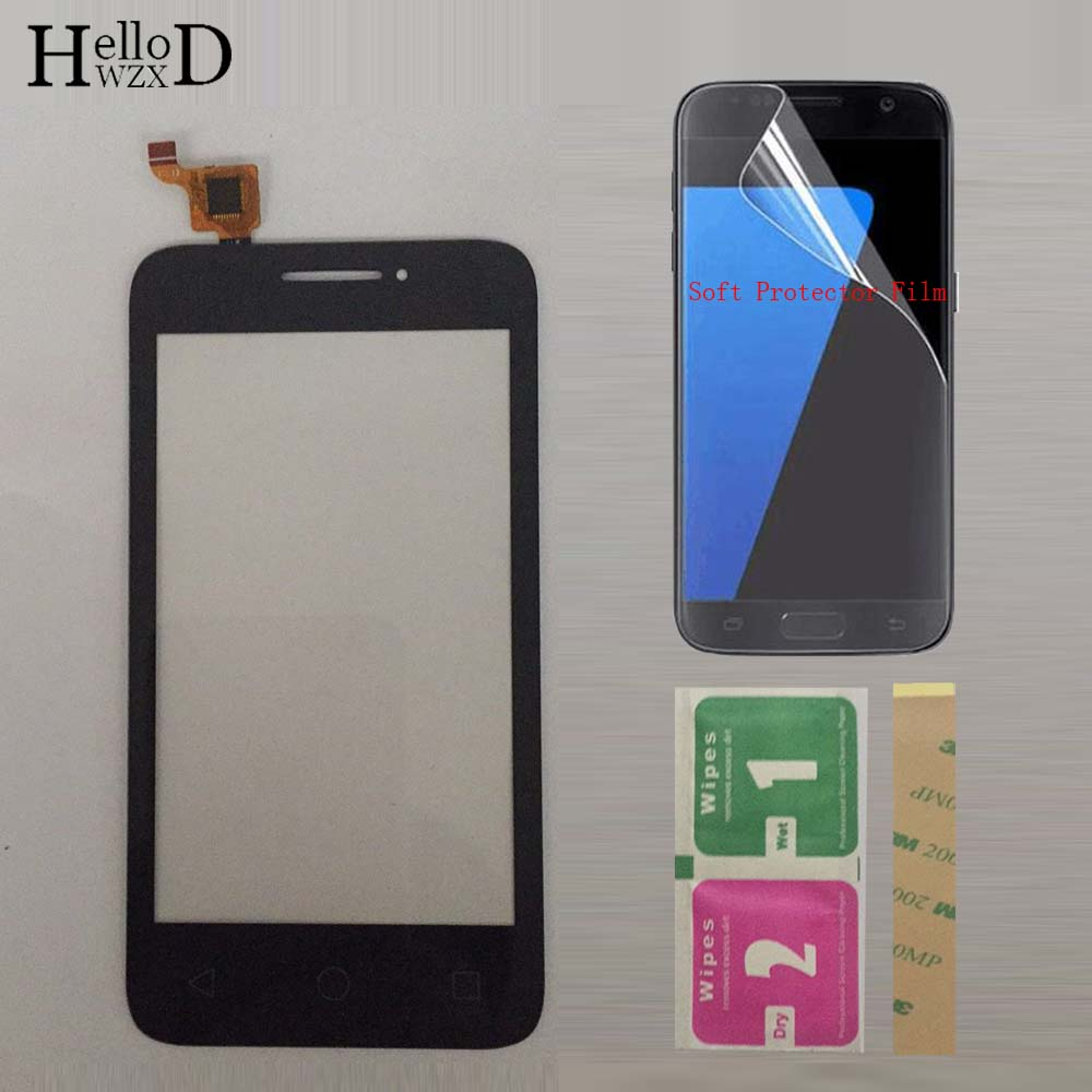 4.0'' Mobile TouchScreen Touch Screen For Alcatel One Touch Pixi 3 4013D 4013 OT4013 Touch Screen Digitizer Front Glass Sensor