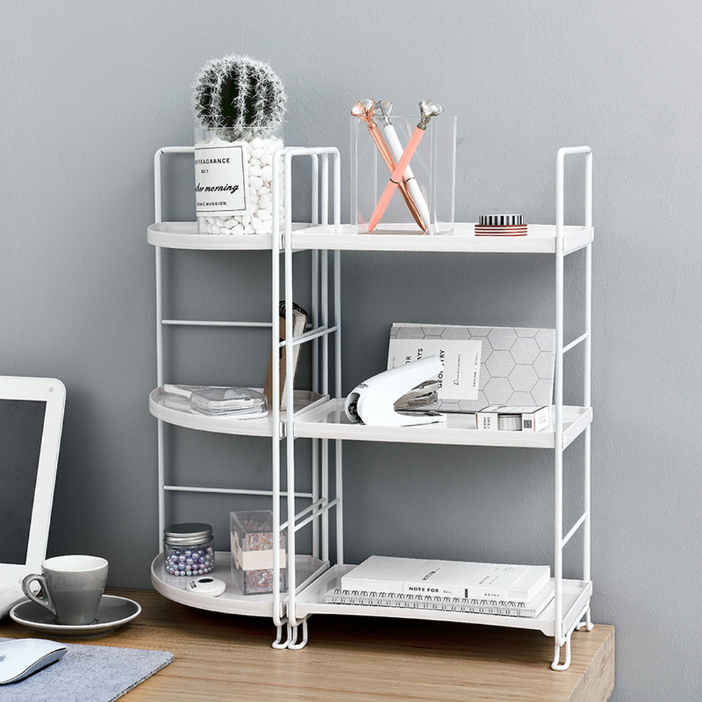 Скандинавские Инс ветер книги стол канцелярские принадлежности размещение хранения отделка стойки для спальни Офис Кухня Ванная комната м...