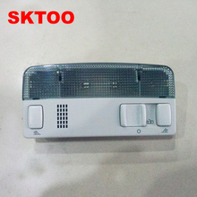 SKTOO For Volkswagen original Passat b5 headlamps in front of the ceiling reading lamp Gray