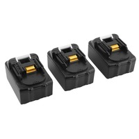 3pcs Lithium Ion 4000mAh Rechargeable Battery Replacement Power Tool Battery For Makita 18V BL1830 BL1840 LXT400