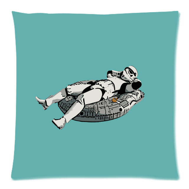 star wars Cushion Cover Peach Skin Throw Pillow Cover Cushion Case