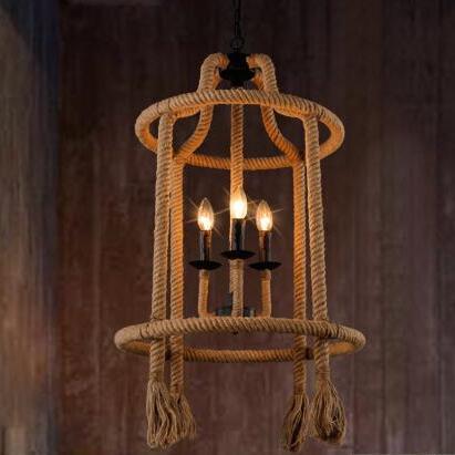 IWHD Ретро лампа Lampara Винтаж промышленные светильники подвесные светильники Лофт Стиль кафе бар Интернет кафе «птичья клетка Hanglamp