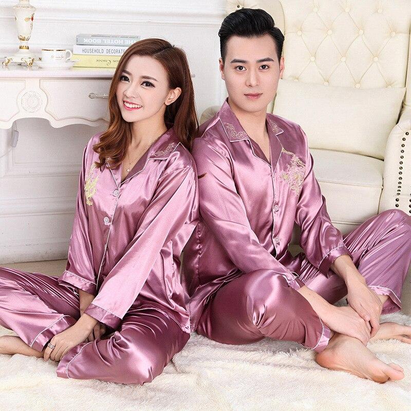 a950a2a1a 2017 Summer New Arrival Women   Men High quality Silk Couple ...
