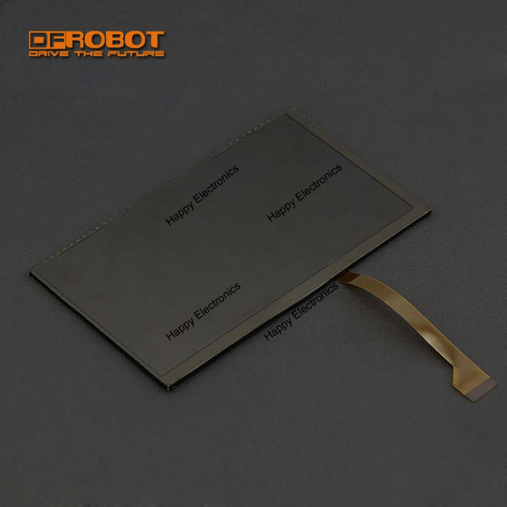DFRobot 100 Genuine 7 inch high resolution 1024x600 IPS Display for LattePanda with FPC extension cable