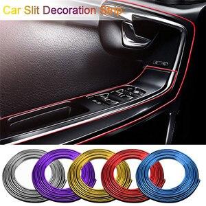 Image 1 - Decoração de interior do carro 5m, listras, moldagem, borda da porta do painel, acessórios para automóveis