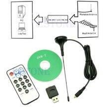 JINSHENGDA Mini RTL-SDR Realtek RTL2832U y R820T USB DVB-T Dongle del Receptor Del Sintonizador MCX Entrada
