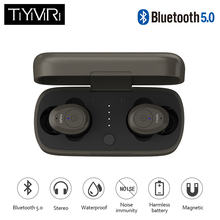 TiYiViRi Standby time About 150 hours In-Ear Stereo Earbud Headset With Charging Box Mic For All Smart Phone